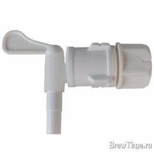 Кран пластиковый с антидрожжевой насадкой